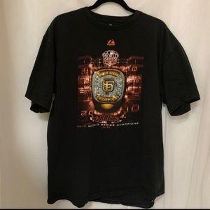 Giants 2010 World T-shirt SzXL🎉🎉🎉